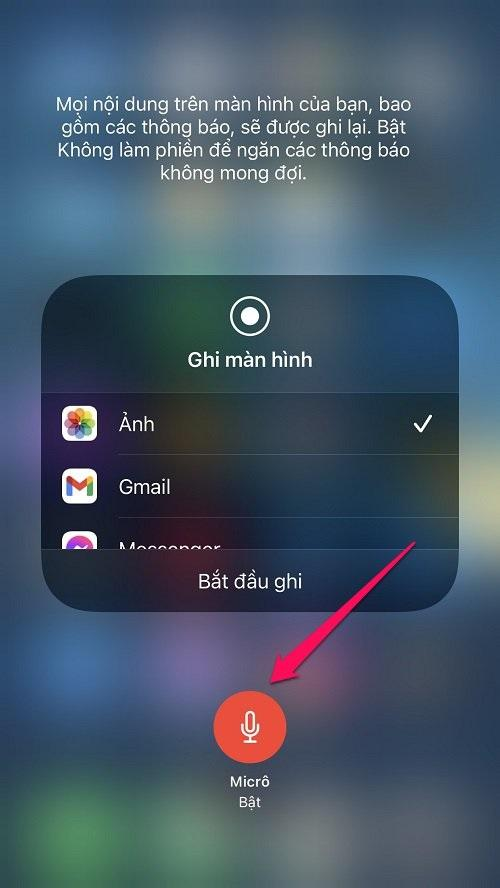 Hướng dẫn cách Quay màn hình trên iOS (iPhone/iPad)