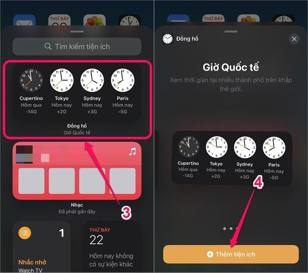 Hướng dẫn cách thiết kế màn hình chính cho iPhone bằng Widget