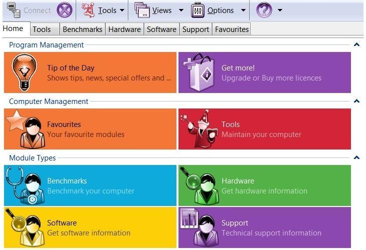 Phần mềm test hiệu năng máy tính Windows - SiSoftware Sandra Lite