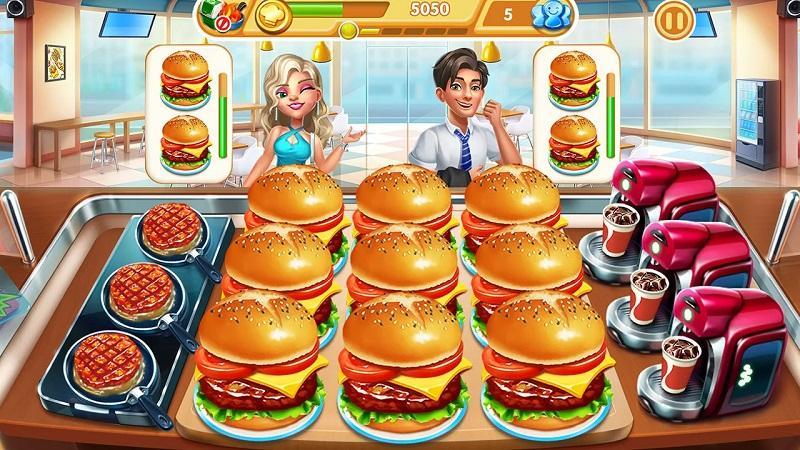 Game nấu ăn hay nhất cho điện thoại - Cooking City