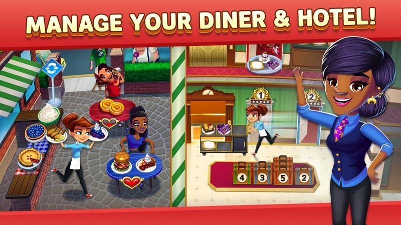 Game nấu ăn hay nhất cho điện thoại - Diner DASH Adventures