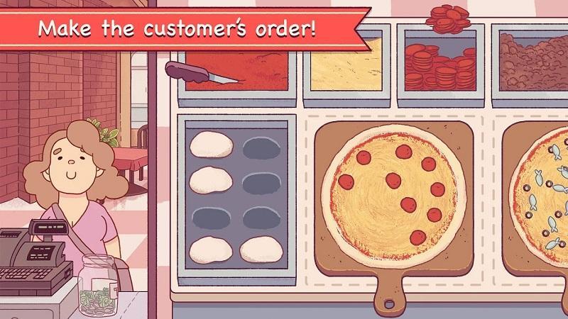 Game nấu ăn hay nhất cho điện thoại - Good Pizza, Great Pizza