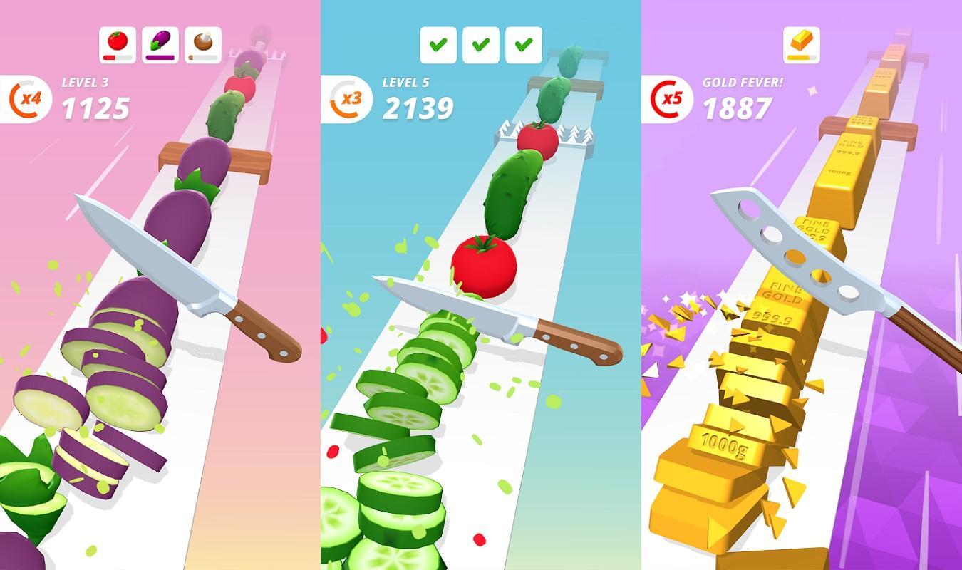 Game nấu ăn hay nhất cho điện thoại - Perfect Slices