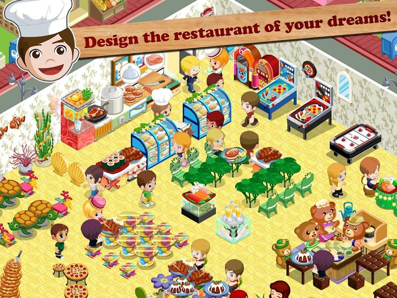 Game nấu ăn hay nhất cho điện thoại - Restaurant Story