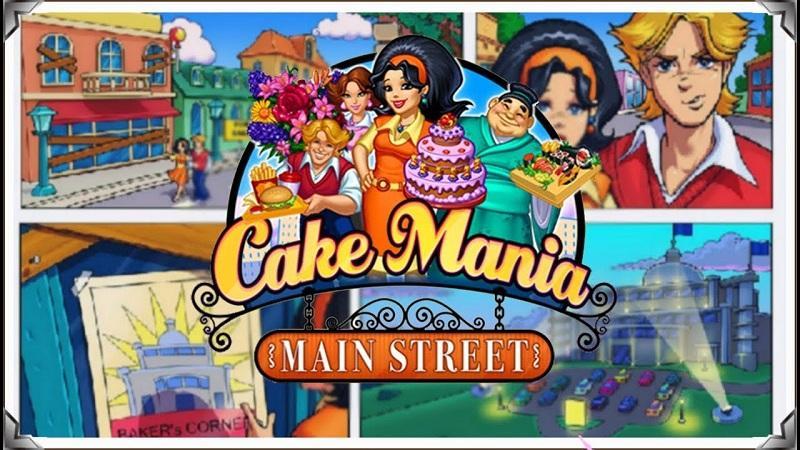 Game nấu ăn hay nhất trên máy tính - Cake Mania Main Street