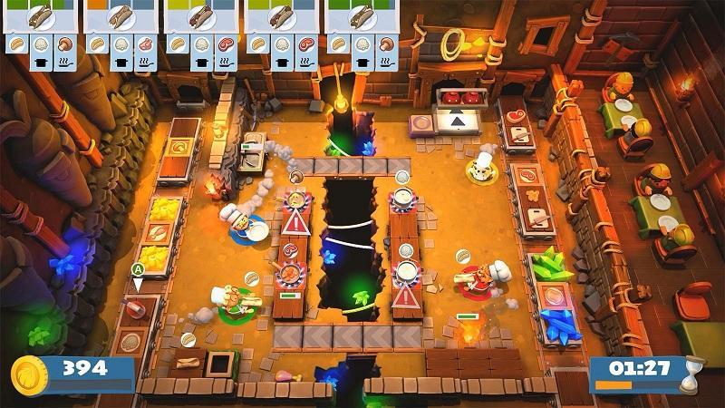 Game nấu ăn hay nhất trên máy tính - Overcooked 2