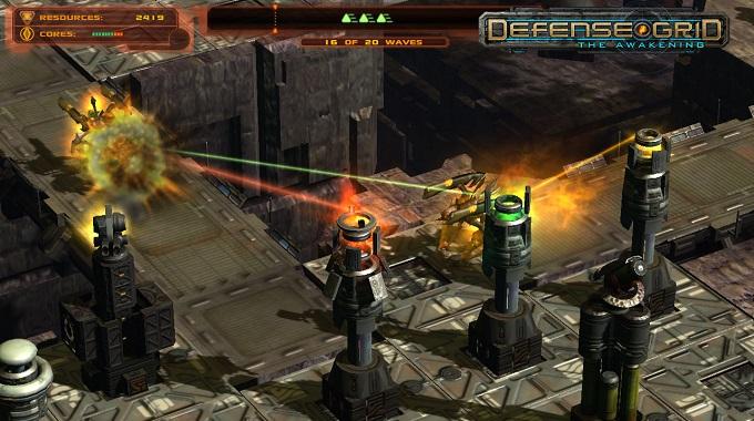 Game thủ thành (tower defense) hay nhất cho PC - Defense Grid: The Awakening
