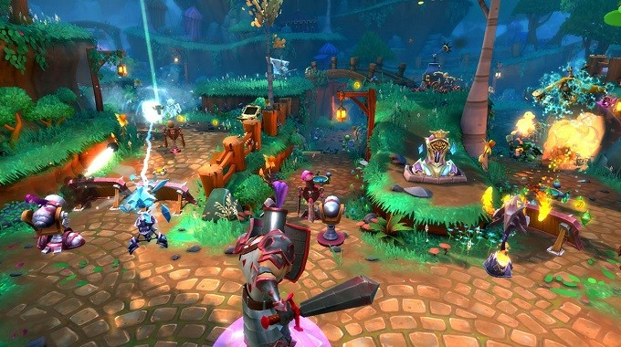 Game thủ thành (tower defense) hay nhất cho PC - Dungeon Defenders