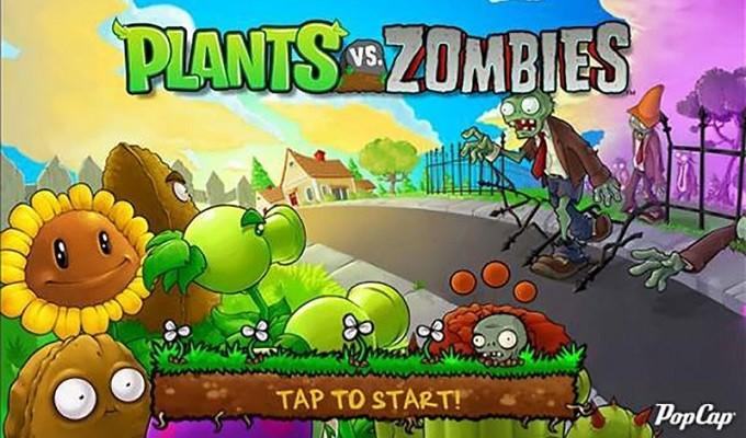 Game thủ thành (tower defense) hay nhất cho PC - Plants vs Zombies