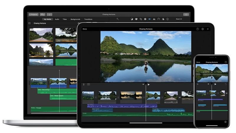 Phần mềm chỉnh sửa video miễn phí tốt nhất trên máy tính - Apple iMovie