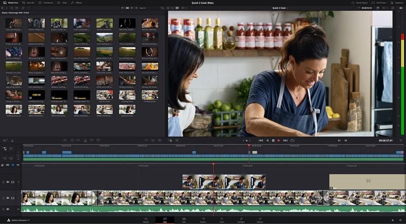 Phần mềm chỉnh sửa video miễn phí tốt nhất trên máy tính - DaVinci Resolve