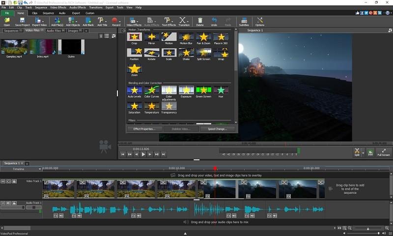 Phần mềm chỉnh sửa video miễn phí tốt nhất trên máy tính - VideoPad