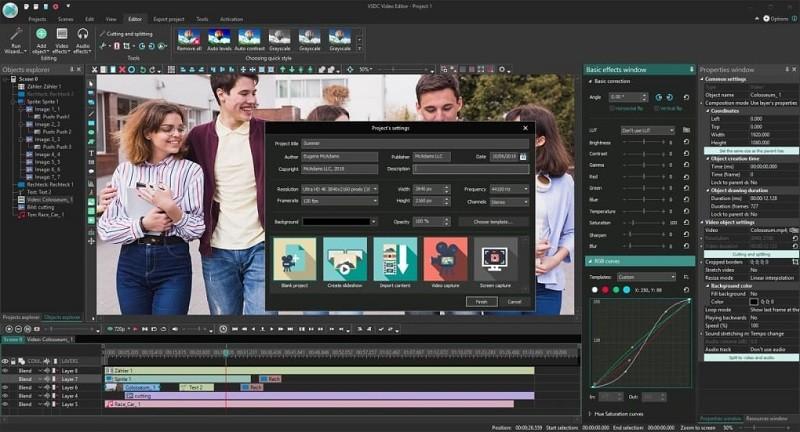 Phần mềm chỉnh sửa video miễn phí tốt nhất trên máy tính - VSDC