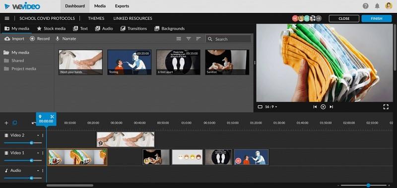 Phần mềm chỉnh sửa video miễn phí tốt nhất trên máy tính - WeVideo
