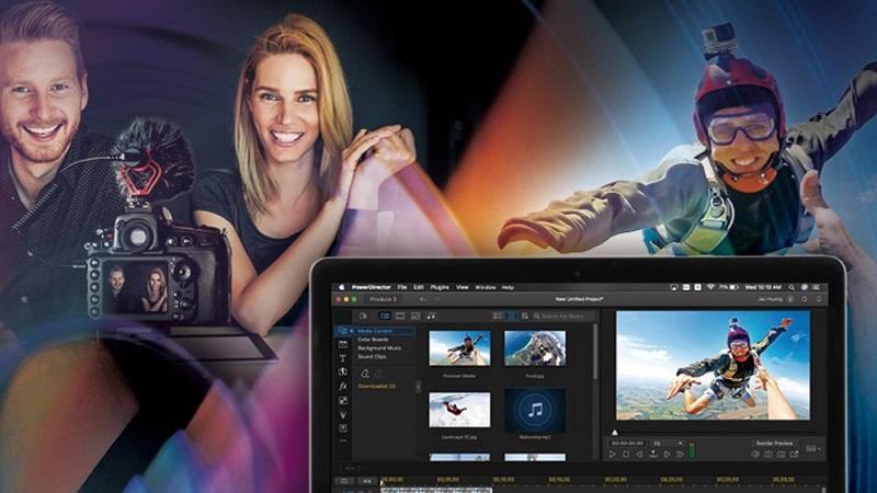 Phần mềm chỉnh sửa video tốt nhất trên máy tính - CyberLink PowerDirector 365
