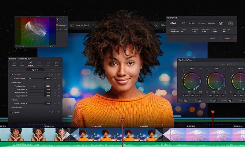 Phần mềm chỉnh sửa video tốt nhất trên máy tính - DaVinci Resolve