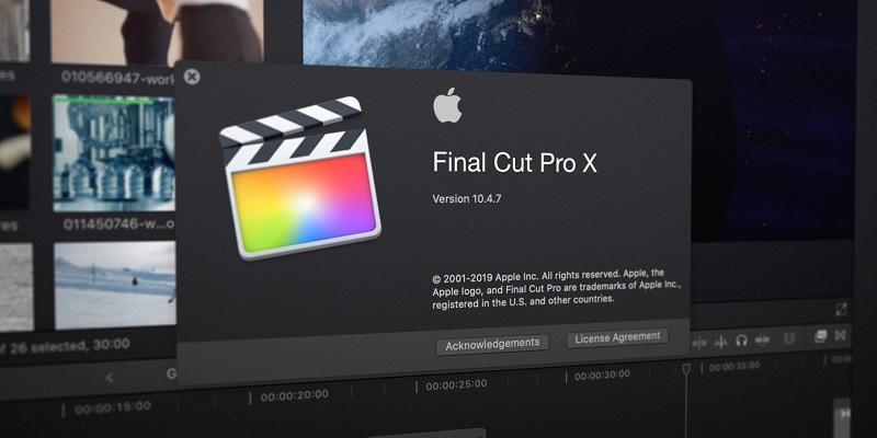 Phần mềm chỉnh sửa video tốt nhất trên máy tính - Final Cut Pro