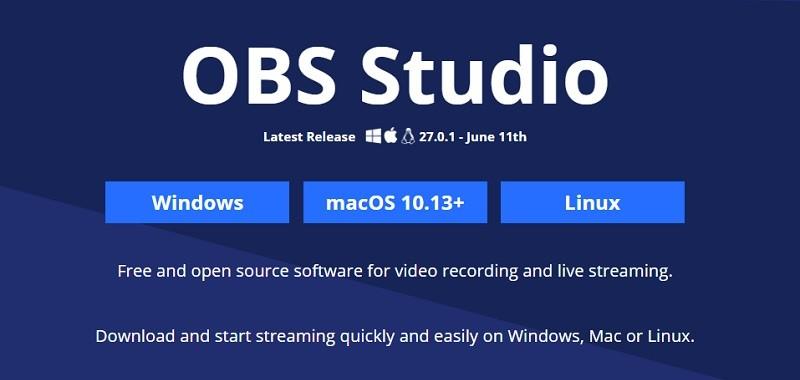 Phần mềm quay màn hình máy tính gọn nhẹ - OBS Studio