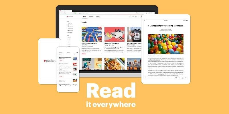 Tiện ích mở rộng (extension) hay nhất cho Google Chrome - Save to Pocket