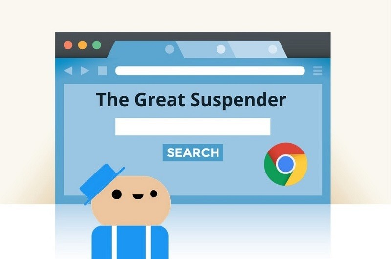 Tiện ích mở rộng (extension) hay nhất cho Google Chrome - The Great Suspender