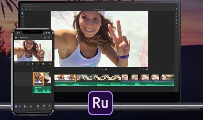 Ứng dụng chỉnh sửa video trên điện thoại tốt nhất - Adobe Premiere Rush