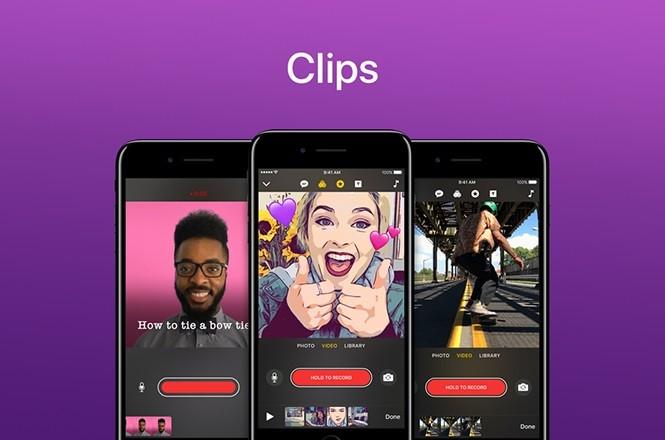 Ứng dụng chỉnh sửa video trên điện thoại tốt nhất - Apple Clips