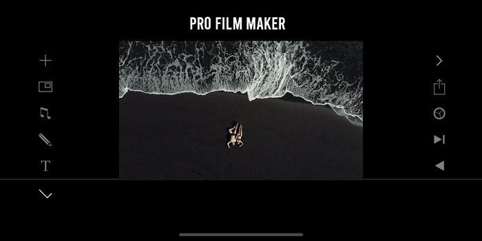 Ứng dụng chỉnh sửa video trên điện thoại tốt nhất - Filmmaker Pro
