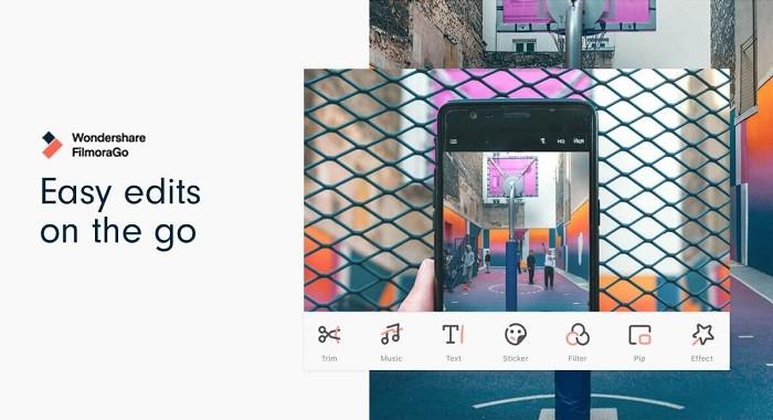 Ứng dụng chỉnh sửa video trên điện thoại tốt nhất - FilmoraGo