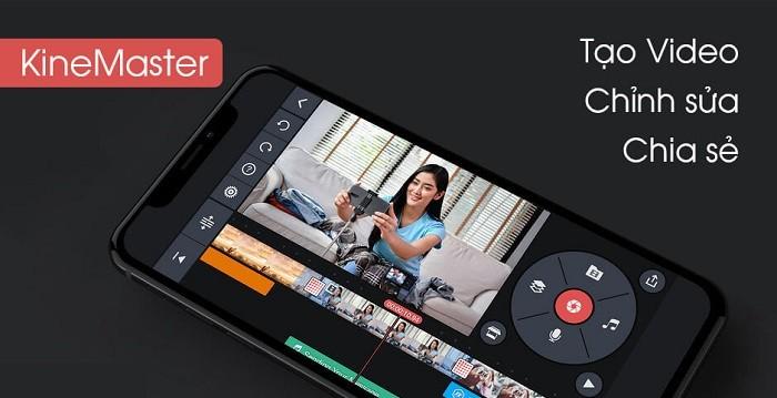 Ứng dụng chỉnh sửa video trên điện thoại tốt nhất - KineMaster