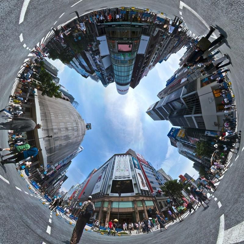 Ảnh chụp Panorama 360 độ