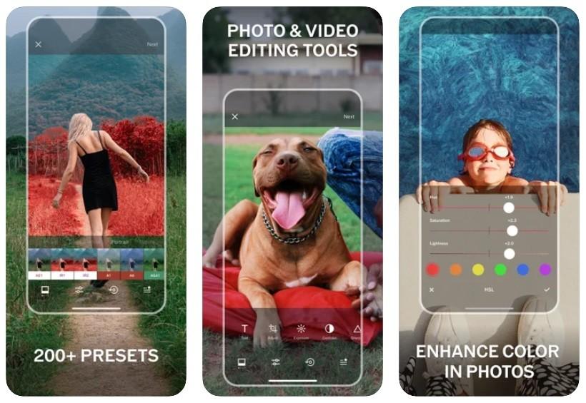 App chụp đồ ăn đẹp cho iPhone/Android: VSCO Photo & Video Editor