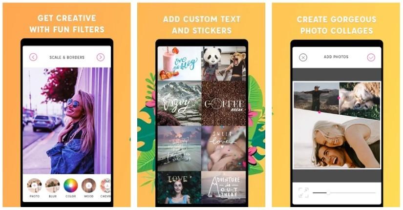 App thêm Sticker vào ảnh - PicLab