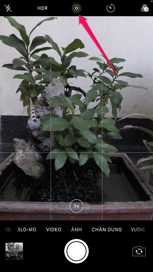 Các bước chụp ảnh phơi sáng lâu trên iPhone