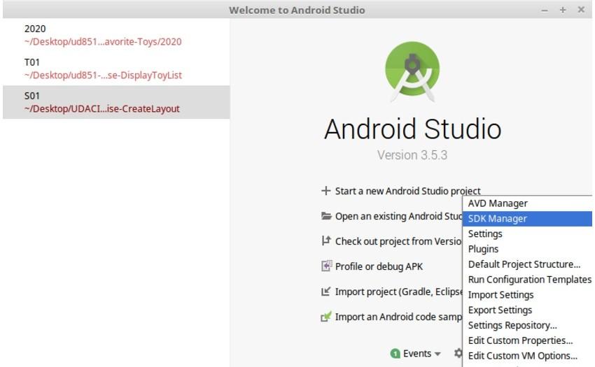 Cách cài đặt Android SDK