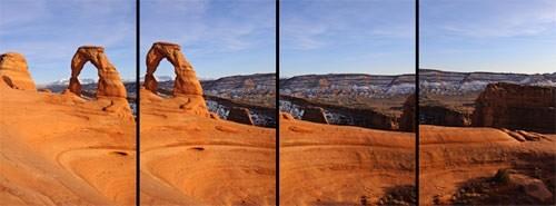 Cách chụp ảnh Panorama dọc