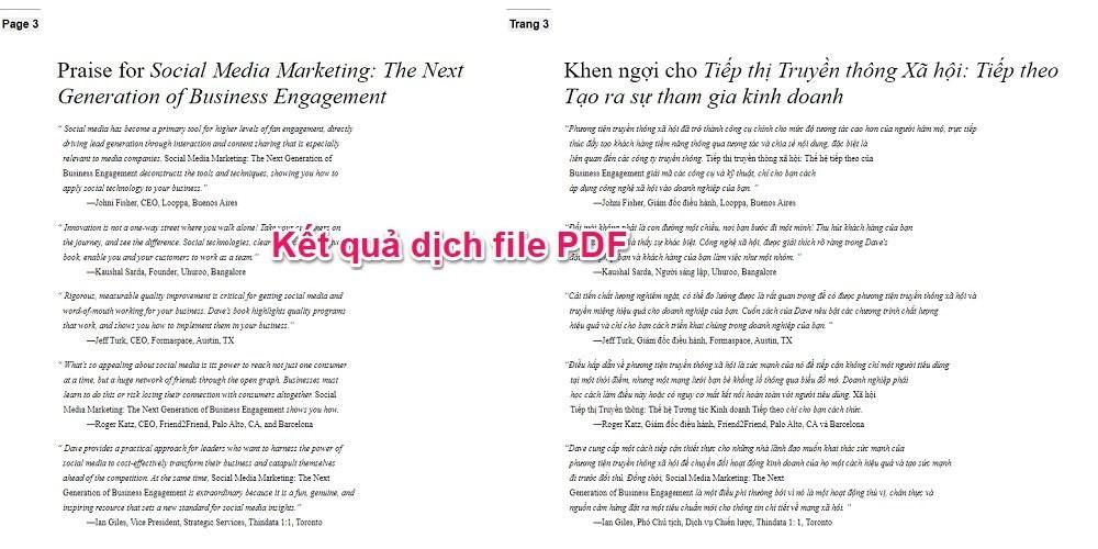 Cách dịch file PDF online bằng Google Translate