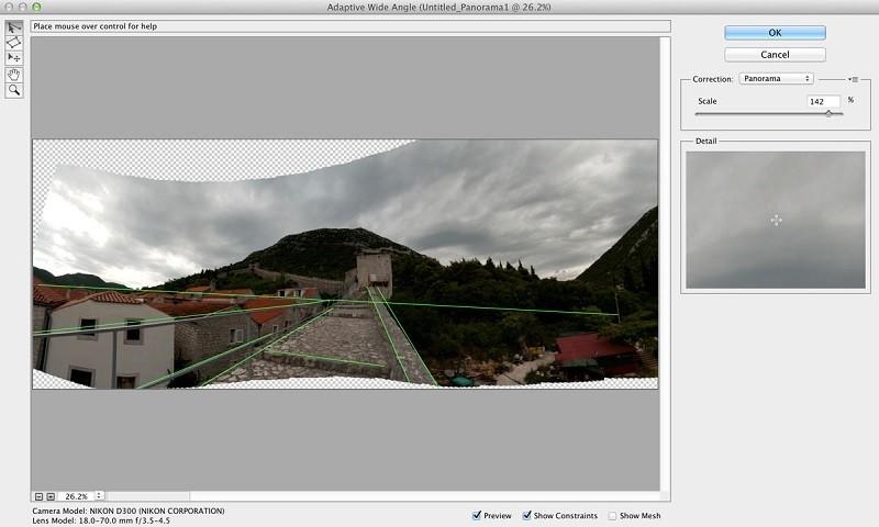 Cách ghép ảnh Panorama bằng Photoshop