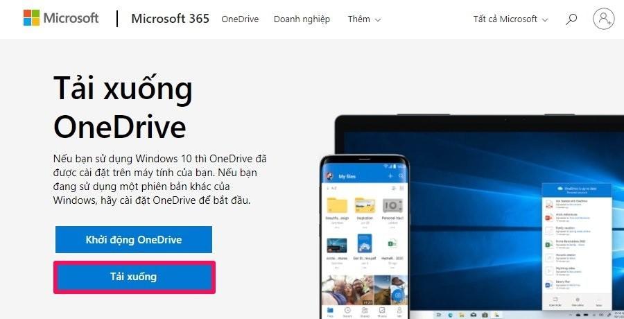 Cách khắc phục OneDrive không đồng bộ hóa: Cập nhật lại phần mềm