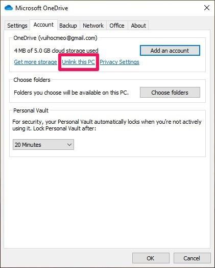 Cách khắc phục OneDrive không đồng bộ hóa: Kết nối lại tài khoản Microsoft