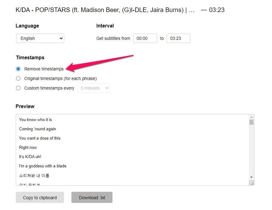 Hướng dẫn cách tải phụ đề (sub) trên YouTube bằng các Dịch vụ web