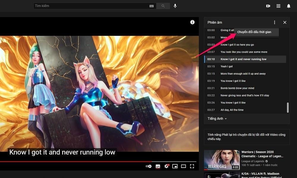Hướng dẫn cách tải trực tiếp phụ đề (sub) trên YouTube