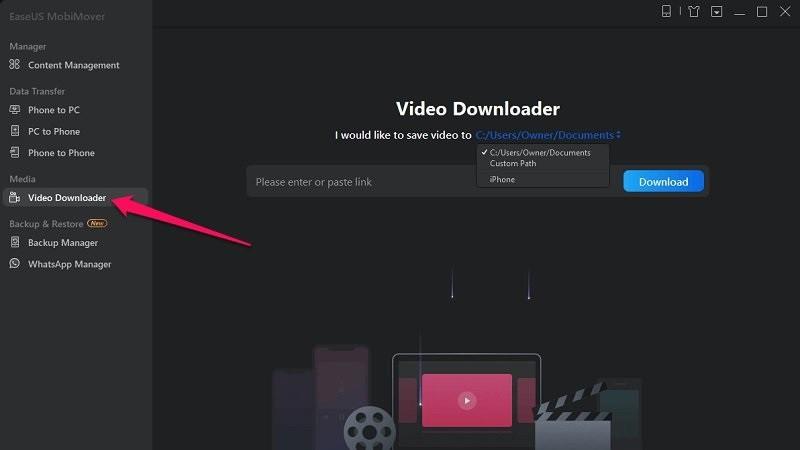 Cách tải Video có phụ đề trên Youtube bằng EaseUS MobiMover