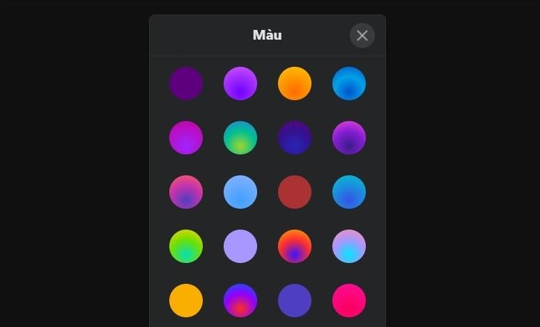 Cách thay đổi màu chủ đề (theme) trang web Messenger trên Máy tính