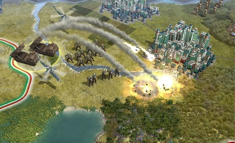 Game cấu hình nhẹ trên Steam - Civilization 5
