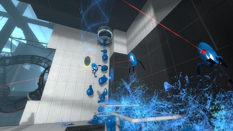 Game cấu hình nhẹ trên Steam - Portal 2