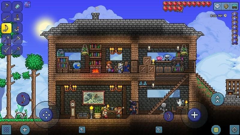 Game cấu hình nhẹ trên Steam - Terraria