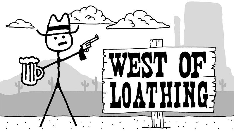 Game cấu hình nhẹ trên Steam - West of Loathing