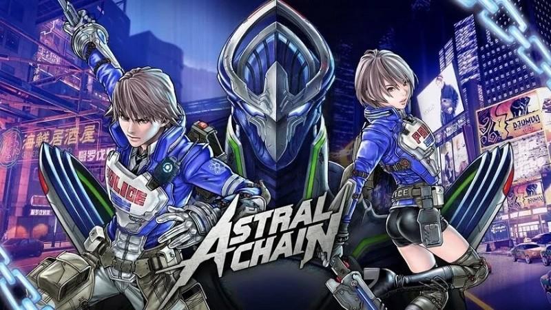 Game chặt chém hay nhất cho PC/Console - Astral Chain