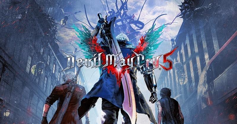 Game chặt chém hay nhất cho PC/Console - Devil May Cry 5