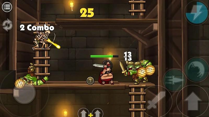 Game chặt chém hay nhất cho điện thoại Android/iPhone - Blackmoor 2